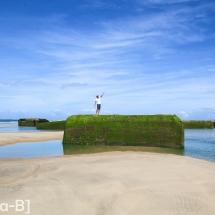 Blockhaus à la pointe du Cap Ferret