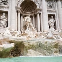 #Fontaine de Trevi #Rome